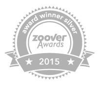 Zoover stempel Silver Award B&B 't Reijmerfhofke